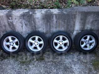"""Колеса Subaru на резине Bridgestone 215/60/16. x16"""" 5x100.00"""