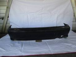 Бампер задний на Nissan Pulsar, Almera N15, черный, Hatchback
