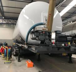 OKT Trailer. Кормовоз/зерновоз OKT-Trailer алюминиевый с подъемным механизмом, 35 000кг. Под заказ
