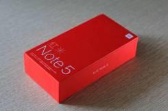 Xiaomi Redmi Note 5. Новый, 64 Гб, Черный, 3G, 4G LTE, Dual-SIM, Защищенный