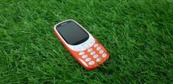 Nokia 3310 2017. Б/у, до 8 Гб, Оранжевый, Кнопочный