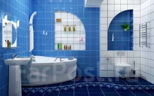Ремонт ванных комнат, санузлов под ключ
