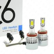 Светодиодная лампа 2шт H3 LED HEADLIGHT C6