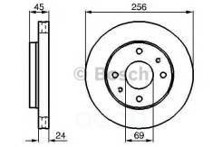 Диск тормозной передн kia: joice 2.0 00- mitsubishi: carisma (da_) 1.6 (da1a)/1.8 (da2a)/1.8 16v (da2a)/1.8 16v gdi (da2a)/1.8 gdi (da2a)/1.9 td (da4a...