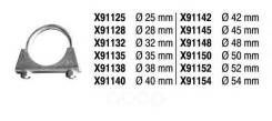 Крепёж Глушителя Fenno арт. x91125