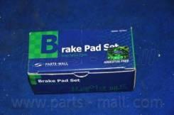 Колодки Тормозные Дисковые Daewoo Lanos(T100) Pmc 96316582 Parts-Mall арт. pkc-006