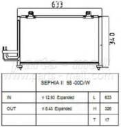 Радиатор Кондиционера Parts-Mall арт. PXNCB-025