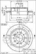 Диск тормозной задн volvo: 960 ii 94-96, s90 97-98, v90 универсал 97-98 Brembo арт. 08.7768.10