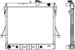 Радиатор Двигателя Sakura арт. 30811009 30811009