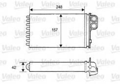 Радиатор отопителя peugeot 405 Valeo арт. 812115