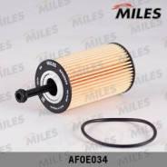 Фильтр Масляный (Вставка) (Citroen C2/C3/Xsara 1.1-1.6/Peugeot 106-307/Partner 1.1-1.6) (Filtron Oe667, Mann Hu612x) Afoe034 Miles арт. AFOE034