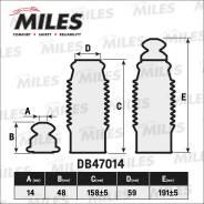Сервисный Комплект (Пыльник И Отбойник На 1 Амортизатор) Db47014 Miles арт. DB47014