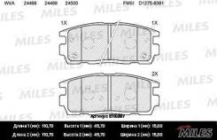 Колодки Тормозные (Смесь Semi-Metallic) Задние (Chevrolet Captiva/Opel Antara 2.4/3.2 06-) (Без Датчика) (Trw Gdb1716) E110297 Miles арт. E110297