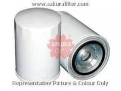 Фильтр топливный! d95 h138 7/8x14 caterpillar Sakura арт. FC7922