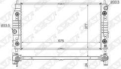 Радиатор chrysler 300m/concorde/lhs/dodge intrepid 2.7/3.2/3.5 98-04 Sat арт. CR0004