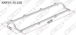Прокладка клапанной крышки mz r2, rf Sat арт. KRF01-10-235