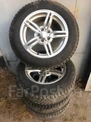 """Продам комплект колес Зима triangle 195/65R15 Литье 5x100. 7.0x15"""" 5x100.00 ET35"""