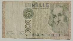 Италия. 1 000 лир 1982 года. Марко Поло