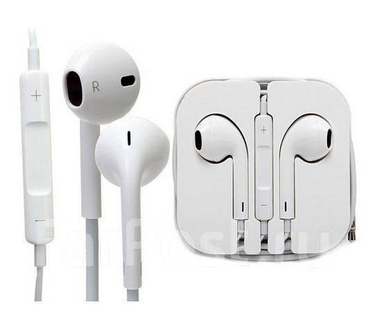 Наушники Apple EarPods MD 827ZM B для iPhone (Айфон) 4   5   6 во  Владивостоке 2921e52ec4737