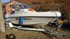 Yamaha. 2006 год год, длина 6,00м., двигатель подвесной, 90,00л.с., бензин