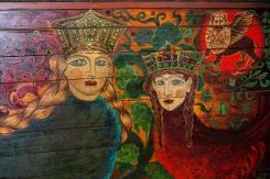 Росписи, панно, декоративные элементы от профессионального художника.