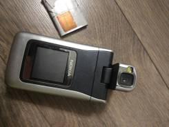 Nokia N90. Б/у, до 8 Гб, Серебристый, Кнопочный