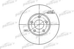 Диск Тормозной Передн Audi: 100 90-94, 100 Avant 91-94, A4 95-00, A4 00-04, A4 04-, A4 Avant 96-01, A4 Avant 01-04, A4 Avant 04-, A4 Кабрио 02-, A6 94...