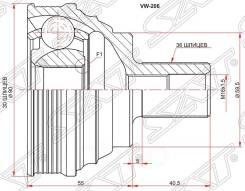 Шрус наружный skoda octavia 04-12/volkswagen caddy 04-10/golg v 05-08/jetta 05-/passat b6/cc 05-14 Sat арт. VW-206