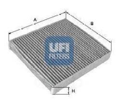 Фильтр салона ! ford focus, volvo s40/s80/c30 1.4-3.2/d/tdci 04 UFI арт. 54.158.00 54.158.00_