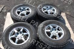 """Штатные диски Mitsubishi Pajero R16 с резиной на докатку. 7.0x16"""" 6x139.70 ET46"""