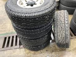 Bridgestone Dueler A/T 001. Грязь AT, 2017 год, без износа, 5 шт