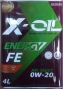 X-Oil. Вязкость 0W-20