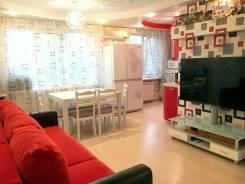 4-комнатная, улица Карбышева 42. БАМ, агентство, 90кв.м. Интерьер