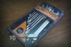 Набор ключей рожковые (8пр) АвтоДело пл.держ. АД-37080 Professional