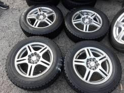 "Зимние колёса из Японии 195/65R15. 6.0x15"" 5x100.00, 5x114.30 ET45 ЦО 73,1мм."