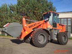 Molot 300T. Продам фронтальный погрузчик , 2 500кг., Дизельный, 1,60куб. м.