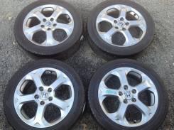 """Колёса 205/55R17 Dunlop диски оригинал Honda 5x114.3. 6.0x17"""" 5x114.30 ET55"""