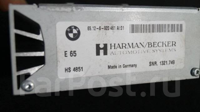 Усилитель магнитолы. BMW 7-Series, E65, E66, E67 BMW 6-Series, E63, E64 BMW 5-Series, E60, E61 Двигатели: M47TU2D20, M57D30TOP, M57D30UL, M57TUD30, N4...