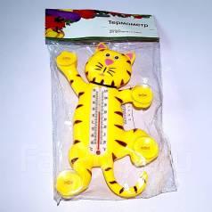 Термометр (Тигр) для крепления на стекло (от -30 до +50 град)