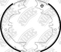 Колодки тормозные барабанные стояночные, NIBK FN8905