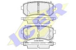 Колодки дисковые з.! hyundai ix35, kia optima/sportage 1.0-2.0i/crdi 06 Icer арт. 181955 181955_