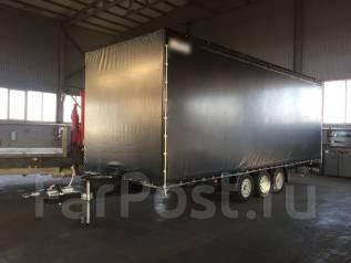 Грузовой шторный 8.4-2.5-3.1 63 куба, 2018. Прицеп грузовой шторный 8400-2550-3900 Евротент 63куба, 2 000кг.