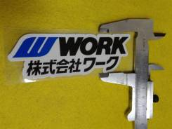 """Наклейки на диски Work! В наличии!. Диаметр 16"""""""", 1шт"""