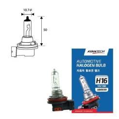 Лампа головного света H16 12V 19W Avantech AB0039