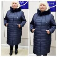 Пальто ЗИМА - Showroom City_style!. 50, 52, 54, 56, 58, 60