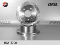 Диск тормозной задний PEUGEOT Boxer/CITROEN Jumper Maxi 02-06. 1800 kg TB218200 fenox TB218200 в наличии