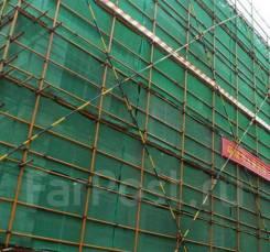 Защитные фасадные сетки.
