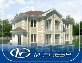 M-fresh Extra Classsss! (Классный проект для яркой жизни на природе! ). 400-500 кв. м., 2 этажа, 6 комнат, бетон