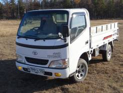 Toyota ToyoAce. Toyota TOYO ACE 2007 г. в. 4WD, МКПП, 2 500 куб. см., 1 500 кг., 4x4