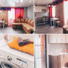 1-комнатная, улица Аллея Труда 56. 66 кв посуточно/почасого, 36кв.м.